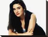 Jennifer Connelly Stretched Canvas Print
