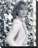 Joanna Lumley Stretched Canvas Print