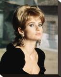 Jill Ireland Stretched Canvas Print