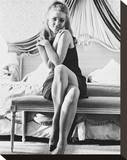 Barbara Bouchet Stretched Canvas Print