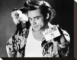Jim Carrey Stretched Canvas Print