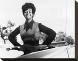 Gail Fisher - Mannix Stretched Canvas Print