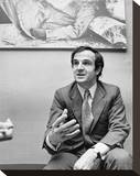 Franois Truffaut Stretched Canvas Print