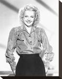 Dale Evans Stretched Canvas Print