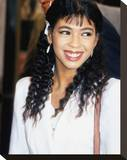 Irene Cara Stretched Canvas Print