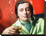 Barry Humphries Stretched Canvas Print
