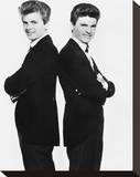 The Everly Brothers Stretched Canvas Print
