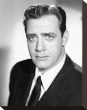 Raymond Burr - Perry Mason Stretched Canvas Print