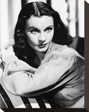 Vivien Leigh Stretched Canvas Print