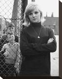 Anneke Wills Stretched Canvas Print