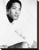 Sam Cooke Stretched Canvas Print