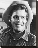 Doug McClure - The Virginian Stretched Canvas Print