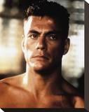 Jean-Claude Van Damme - Universal Soldier Stretched Canvas Print