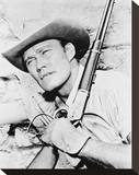 Chuck Connors Stretched Canvas Print