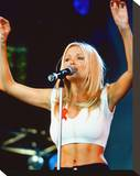 Dannii Minogue Stretched Canvas Print