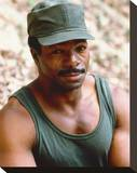 Carl Weathers - Predator Stretched Canvas Print