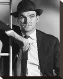 Stanley Baker Stretched Canvas Print