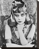 Theda Bara Stretched Canvas Print