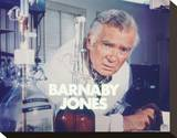Buddy Ebsen - Barnaby Jones Stretched Canvas Print