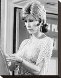 Stefanie Powers Stretched Canvas Print