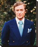 Michael Caine - Sleuth Stretched Canvas Print