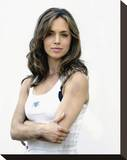 Eliza Dushku Stretched Canvas Print