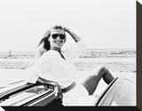 Christie Brinkley Stretched Canvas Print
