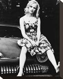 Juliette Lewis Stretched Canvas Print