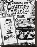 June Carter Cash Stretched Canvas Print