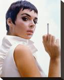 Barbara Steele Stretched Canvas Print