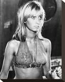 Susan George - Dirty Mary Crazy Larry Stretched Canvas Print