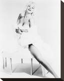 Jayne Mansfield Stretched Canvas Print