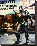 RoboCop Stretched Canvas Print