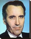 Christopher Lee Stretched Canvas Print