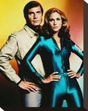 Gil Gerard Stretched Canvas Print
