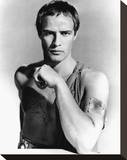Marlon Brando - Julius Caesar Stretched Canvas Print