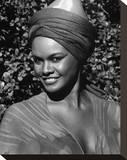 Tamara Dobson - Cleopatra Jones Stretched Canvas Print