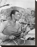 William Holden - The Bridge on the River Kwai Stretched Canvas Print