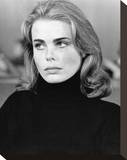 Margaux Hemingway - Lipstick Stretched Canvas Print