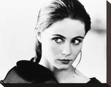Emmanuelle Beart Stretched Canvas Print