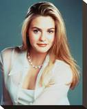 Alicia Silverstone - Clueless Stretched Canvas Print