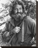 Dan Haggerty - The Life and Times of Grizzly Adams Stretched Canvas Print