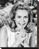 Elizabeth Montgomery - Bewitched Stretched Canvas Print