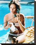 Jaclyn Smith - Charlie's Angels Stretched Canvas Print