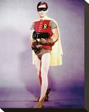Burt Ward Stretched Canvas Print