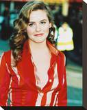 Alicia Silverstone Stretched Canvas Print
