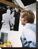 David Hemmings - Blowup Stretched Canvas Print