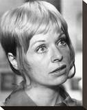 Susannah York - Zee and Co. Stretched Canvas Print