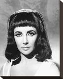 Elizabeth Taylor - Cleopatra Stretched Canvas Print