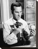 Don Adams - Get Smart Stretched Canvas Print